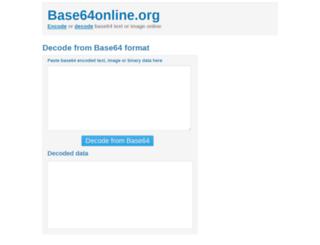 base64online.org screenshot