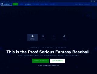 baseball.cbssports.com screenshot
