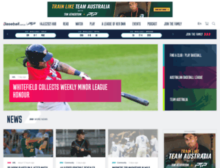 baseball.com.au screenshot