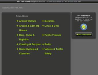 baseball4lives.net screenshot