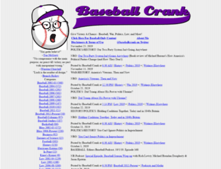 baseballcrank.com screenshot