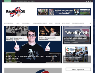 baseballgb.co.uk screenshot