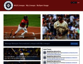 baseballpress.com screenshot