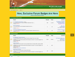 baseballradio.proboards.com screenshot