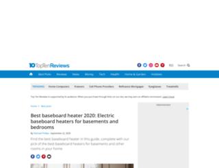 baseboard-heaters-review.toptenreviews.com screenshot
