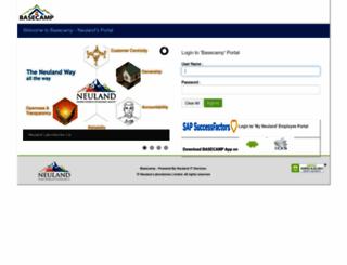 basecamp.neulandlabs.com screenshot