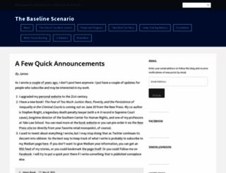 baselinescenario.com screenshot