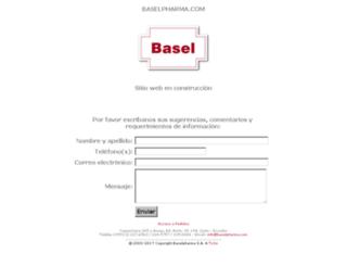 baselpharma.com screenshot