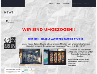 baseltattoo.com screenshot