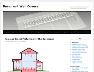 basement-well-cover.com screenshot