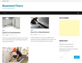 basementfixers.com screenshot