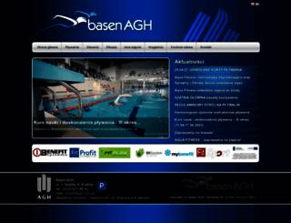 basen.agh.edu.pl screenshot