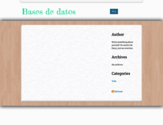 basesdedatoss.weebly.com screenshot