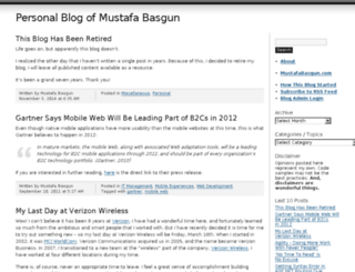 basgun.wordpress.com screenshot