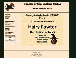 bash.bonesbeagles.org screenshot