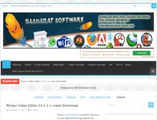 basharatsoftware.com screenshot