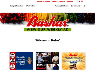bashas.com screenshot