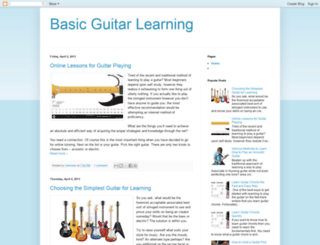 basic-guitar.blogspot.com screenshot