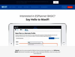 basic.esplanner.com screenshot