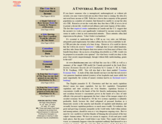 basicincome.com screenshot