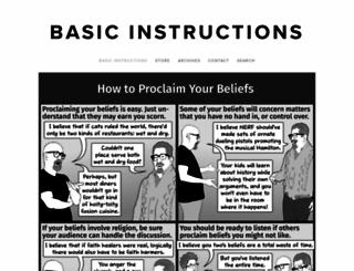 basicinstructions.net screenshot