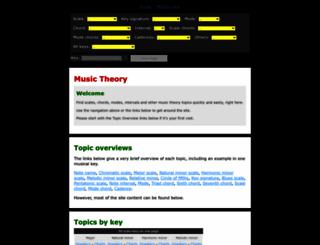 basicmusictheory.com screenshot