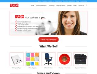basics.com screenshot