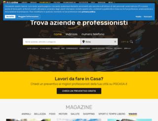 basilicata.paginegialle.it screenshot