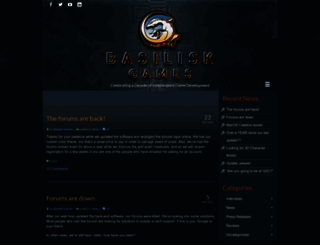 basiliskgames.com screenshot