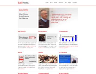 basilpeters.com screenshot
