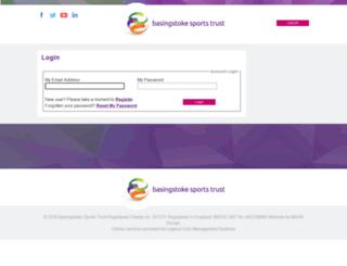 basingstokesc.legendonlineservices.co.uk screenshot