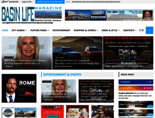 basinlife.com screenshot