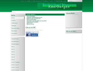 basisschoolatheneumkeerbergen.be screenshot