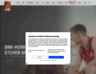 basketball-bund.de screenshot