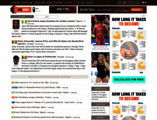 basketball.afrobasket.com screenshot