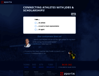 basketball.findsportsjobs.com screenshot