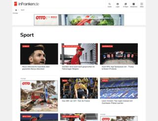 basketball.infranken.de screenshot