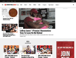 basketballbuzz.ca screenshot