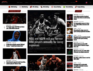 basketballinsiders.com screenshot