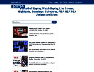 basketballreplay.blogspot.com screenshot