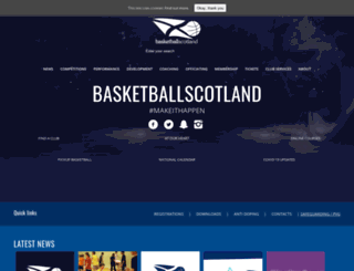 basketballscotland.co.uk screenshot