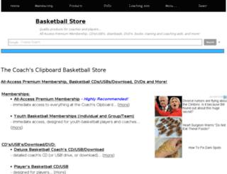 basketballstore.coachesclipboard.net screenshot