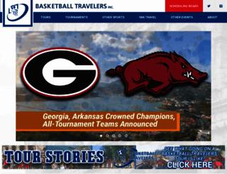 basketballtravelers.com screenshot
