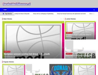 basketbalnieuws.nl screenshot