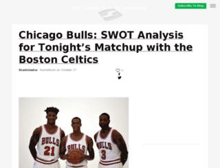 basketbulls.sportsblog.com screenshot