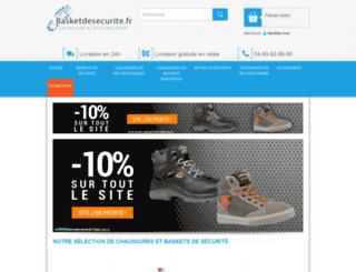 basketdesecurite.fr screenshot