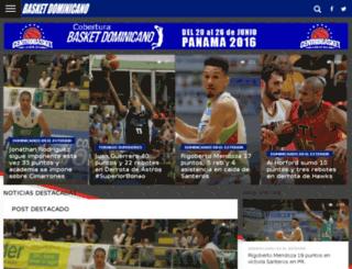 basketdominicano.info screenshot