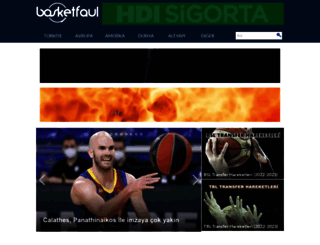 basketfaul.com screenshot