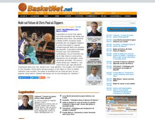basketnet.net screenshot