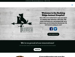 baskingridgeanimalhospital.com screenshot